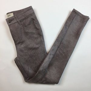 We the Free Faux Suede Women's Pants 24 Skinny Z10